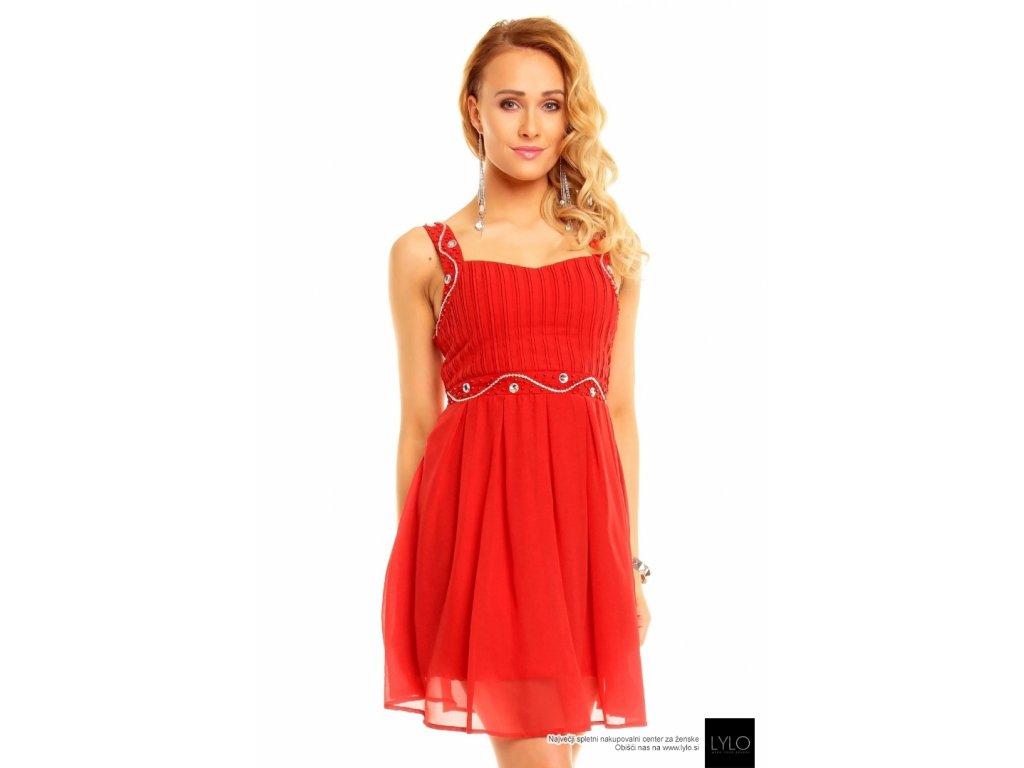 A Krátké červené šaty 0029