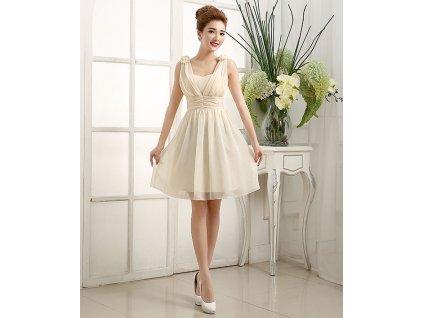 A Krátké žluté společenské šaty 17121 5be6151e30
