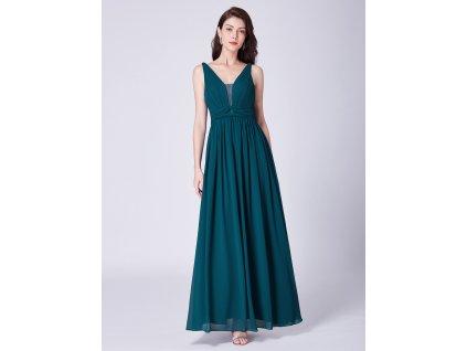 16b4397264d Luxusní zelené šaty Ever Pretty 7499