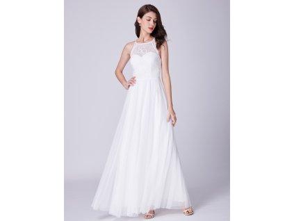 Ever Pretty úchvatné bílé šaty 7514 2044c93620