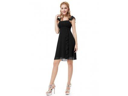 Ever Pretty šaty do tanečních, plesové černé 3337