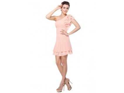 Ever Pretty šaty krátké růžové 3645