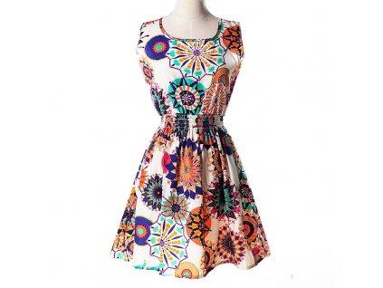 cbc7b7d2d52 A Letní krátké šaty nevšední vzory 7
