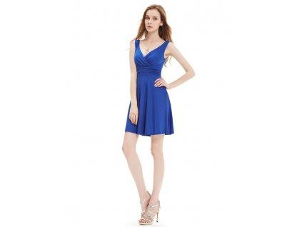 Ever Pretty letní šaty modré 5294