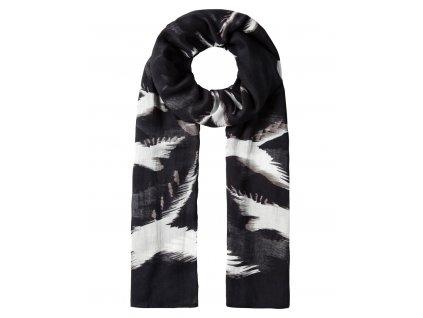 Vincenzo Boretti luxusní šátek, šálka černá