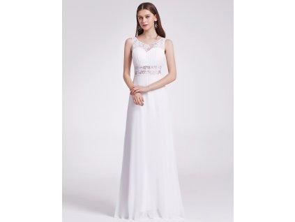 6a2a5025fb1 Plesové šaty společenské bílé 8741
