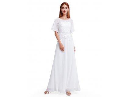 Ever Pretty plesové šaty bílé 8775 8ed22bd07c