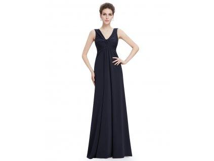 1 990 Kč –35 %. Tmavě modré dlouhé šaty 8729 6d44566eb0