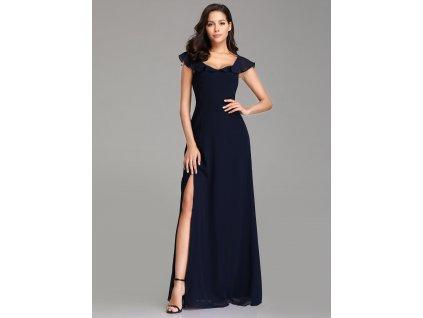 Dámské úžasné tmavě modré šaty Ever Pretty 7737 f3aa3c6748