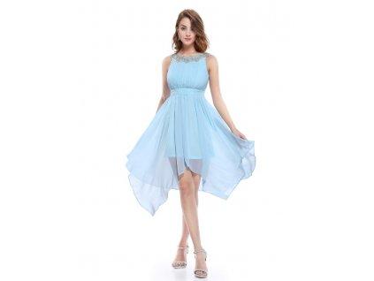 f557724c210 Ever Pretty šifonové šaty krátké modré 5002