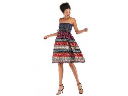 Two wearing bohemian dresses women casual dresses (1)