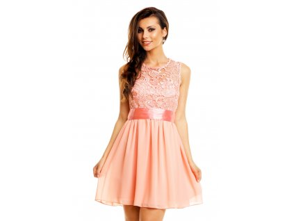 dress mayaadi hs 367 light pink m 2