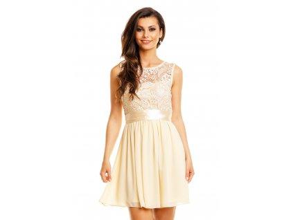 dress mayaadi hs 367 creme m