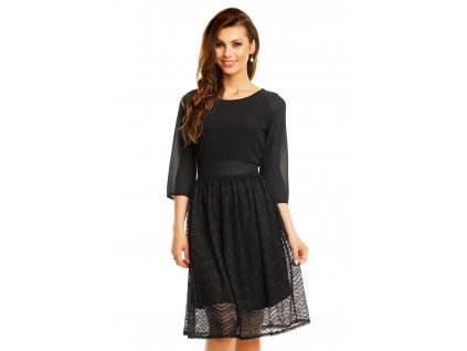 dress mayaadi hs 359 black l