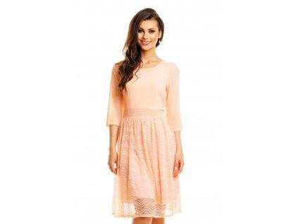 dress mayaadi hs 359 light salmon m