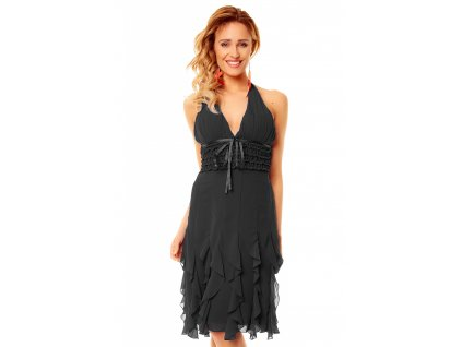 dress mayaadi hs 310a black l