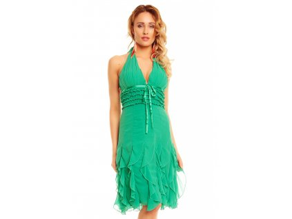 dress mayaadi hs 310a green l