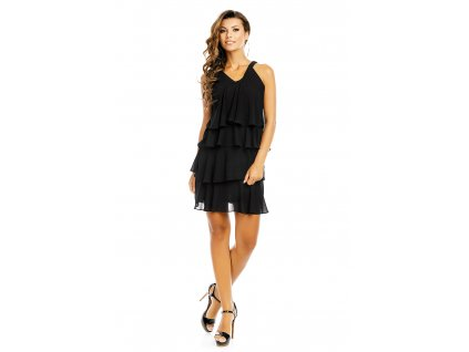 dress mayaadi hs 372 black l