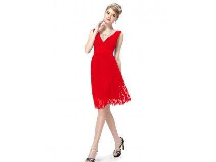 Ever Pretty šaty do tanečních, plesové červené 3409