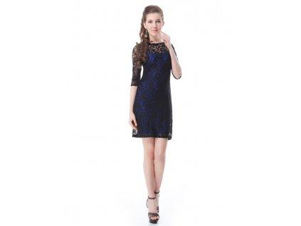 Ever Pretty šaty krajkové, pouzdrové šaty 3790