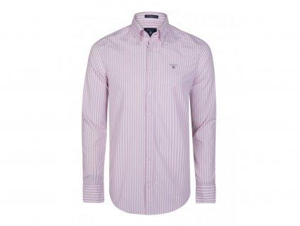 GANT pánská košile růžovo-bílá (Velikost L)
