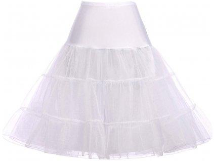 spodnička krátká bílá 22 1