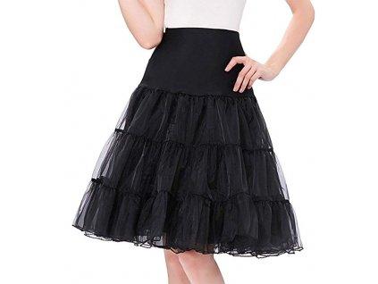 černá tutu spodnička krátká 22 1