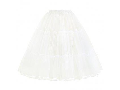 spodnička tutu sukýnka bílá 177 2