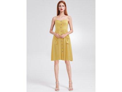 Stylové letní šaty na knoflíky