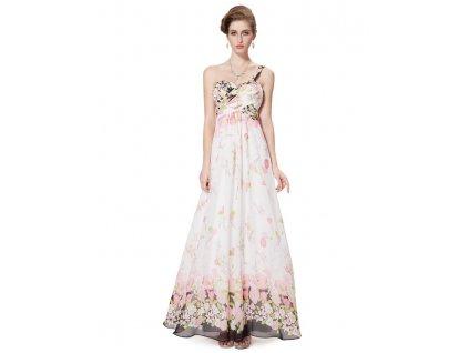 Ever Pretty letní květinové dlouhé šaty 8394