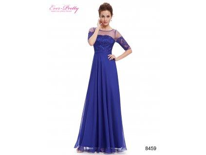 Elegantní Ever Pretty plesové šaty modré 8459 (Velikost 3XL   48   16   20 87cbb0330c