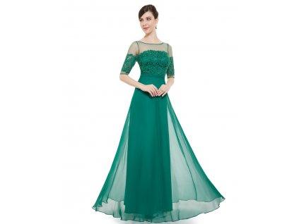 c0e5c9b23a7 Elegantní Ever Pretty plesové šaty zelené 8459 (Velikost 3XL   48   16   20