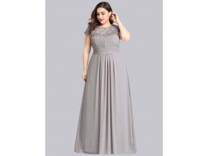 Dlouhé šaty s krajkou