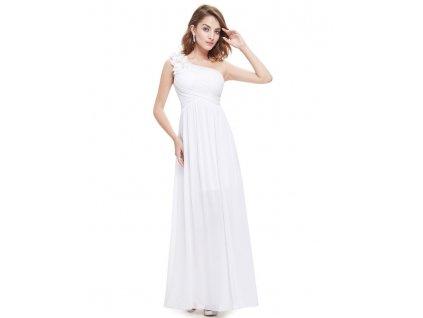 Ever Pretty svatební šaty bílé na ramínko 8237 (Velikost 3XL / 48 / 16 / 20)
