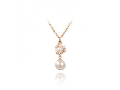 Elegantní řetízek s perlou
