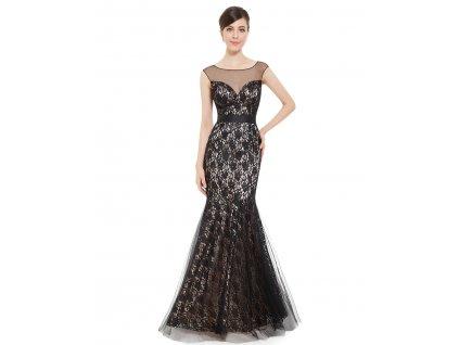 Dámské elegantní Ever Pretty plesové šaty černé 8471 034d1af794