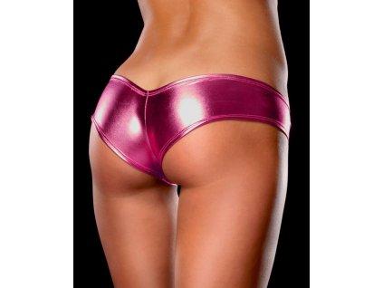 Sexy metalické kalhotky růžové
