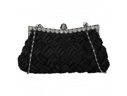 Společenská kabelka, psaníčko černá barva