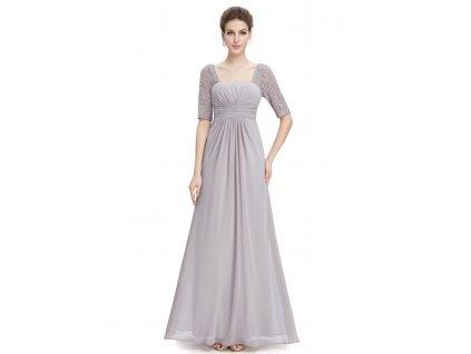 Společenské šaty Ever Pretty šedé 8038 (Velikost 3XL   48   16   20) a478643856