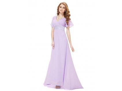 Levandulové šaty pro družičky