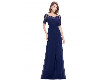 Elegantní Ever Pretty plesové šaty modré 8793 467f1da28e