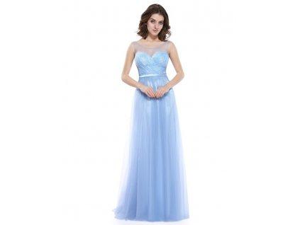 Ever Pretty plesové šaty modré 8833