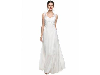 A Bílé šaty svatební nebo na věneček 161a9a4d95