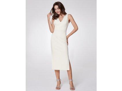 1 990 Kč –25 %. Ever Pretty bílé krátké šaty 7235 c51828d032