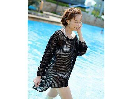Krátké plážové MAXI šaty 6307-1
