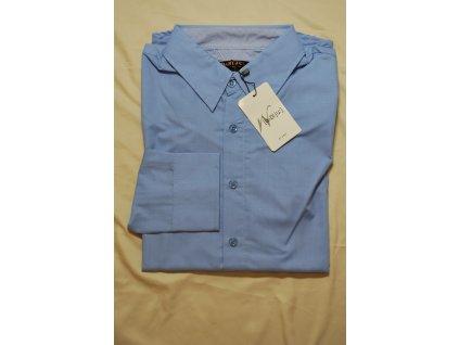 Pánská košile modrá 31700