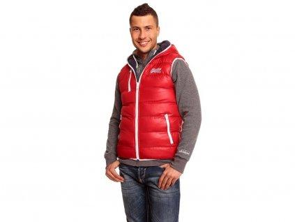 Pánská vesta ReRock červená oboustranná