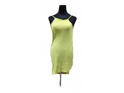 zelinkave šaty pareo na pláž