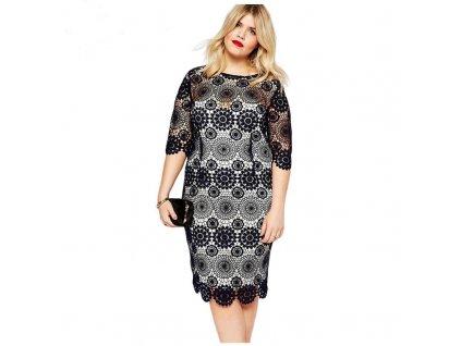 Inkedelegant loose big women clothing plus size LI · A Elegantní krátké  krajkové šaty ... 94a3528d82