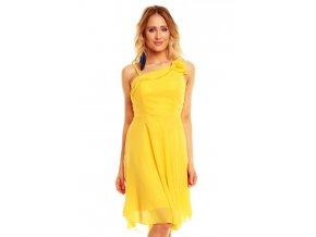 Šaty do tanečních žluté HS516